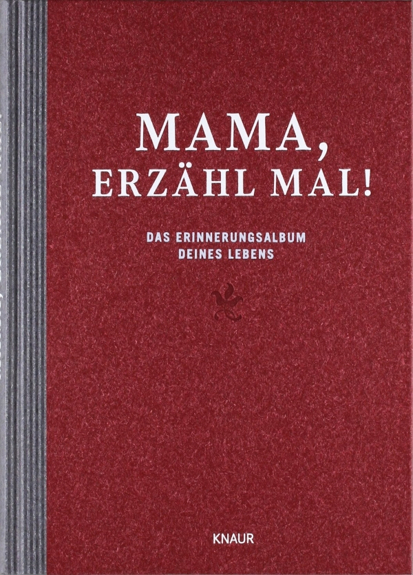 Mama erz hl mal das erinnerungsalbum deines lebens geschenk f r - Geschenk 50 geburtstag mama ...
