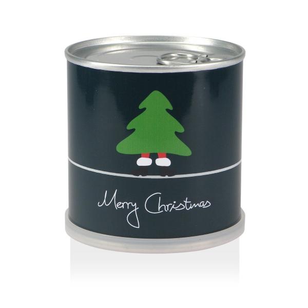 weihnachtsbaum aus der dose geschenk f r. Black Bedroom Furniture Sets. Home Design Ideas