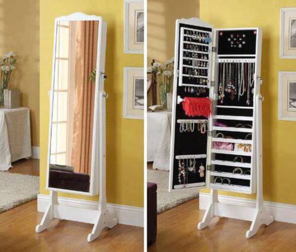 spiegelschrank schmuckschrank mit spiegel geschenk f r. Black Bedroom Furniture Sets. Home Design Ideas