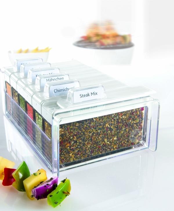 gew rz kartei spice box von emsa gew rze platzsparend aufbewahren geschenk f r. Black Bedroom Furniture Sets. Home Design Ideas