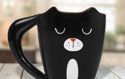 Black Cat Tasse