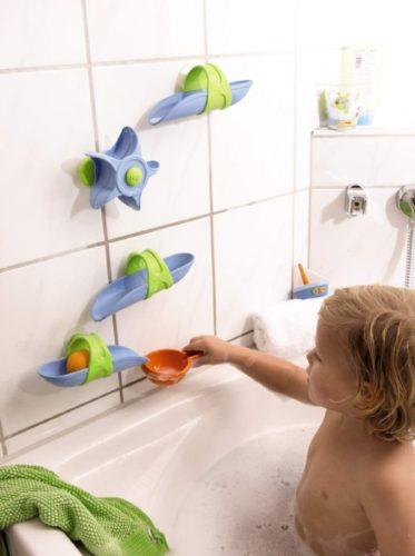 kugelbahn f r die badewanne von haba geschenk f r. Black Bedroom Furniture Sets. Home Design Ideas