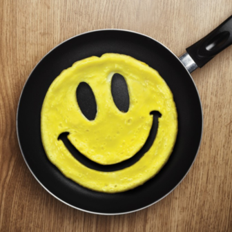 Smiley Pfannkuchen-Form
