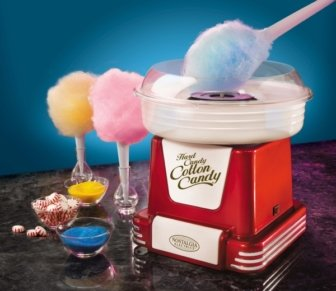 Zuckerwatte-Maschine im Retro-Look –  Ariete Cotton Candy Party Time