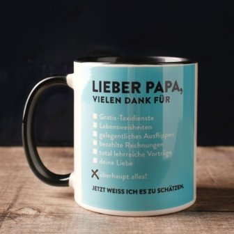 Lieber Papa Tasse